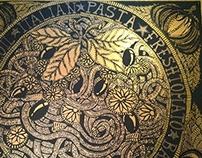 """Contemporary Art: """"Tribute to: Pasta Asciutta Italiana"""""""