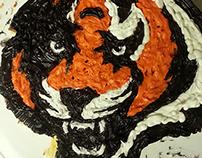 Bengals cake