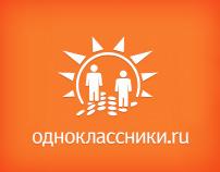 Odnoklassniki main page concept