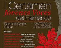 I CERTAMEN JOVENES VOCES DE FLAMENCO