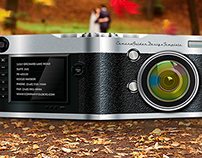 Camera Presentation Folders Template for Photographers