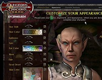 Dungeons and Dragons Online - Stormreach UI / UX
