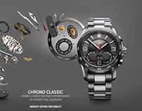 Victorinox Watches Advertising