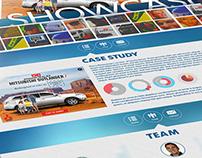 Ad Showcase Web Design