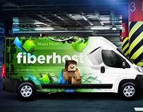 FIBERHOST  - branding design