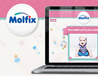 the most beautiful baby - Molfix Algérie