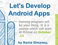 Let's develop android apps