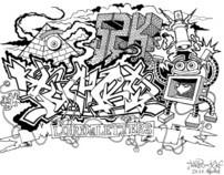 Graffiti Sketchs