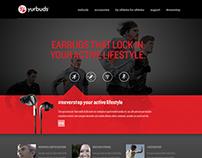 yurbuds website refresh