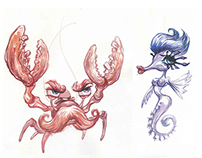 Reef Run - art directing for Yggdrasil