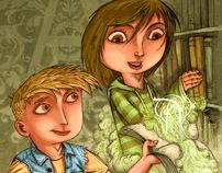 schoolbooks illustration