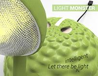 Light Monster - a kids table lamp