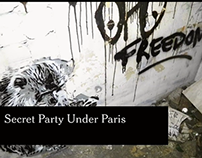 VIDEO  New York Times Party Under Paris, But Don't Tell