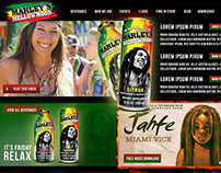 DrinkMarley.com Redesign Concept
