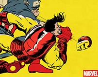 Marvel's The Dark Knight Civil War by Butcher Billy