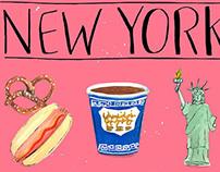 New York Poster Illustration