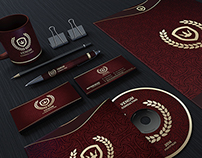 Red And Gold Corporate Identity