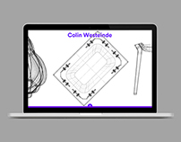 Wireframe Furniture Design Website