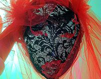 Halloween Dark Bride Mask