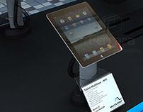 Mesa de degustação para Tablets e Smartphones