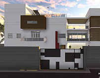 Proposed Holiday Home, Sri Lanka  -  3D views