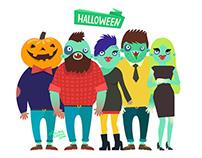 Happy Hipster Halloween