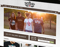 Bitang Clothing webdesign