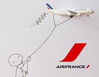 Air France (Hong Kong) - Social posts