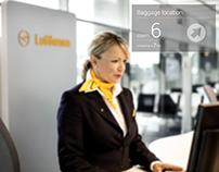 Lufthansa Glass