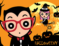 HALLOWEENY - Animated Sticker Pack for WeChat