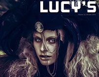 'Breathless for Lucy's Magazine - Cover'