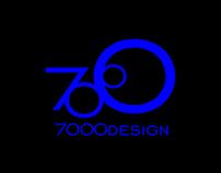 7000design: Logo, Business Card