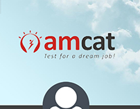 My AMCAT - Mobile App Design Concept