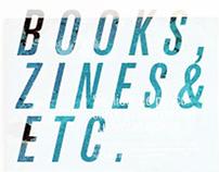 books, zines & etc.