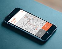 Wander iPhone App