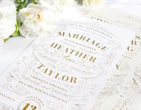 Erickson Wedding Invitation