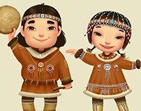National costumes of the peoples of the Far North