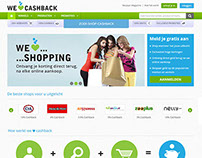 We Love Cashback - Project Developed by iLead Digital