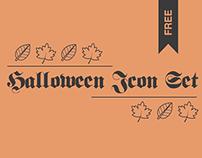 Halloween Free Icon Set
