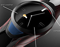 Garmin Smart Watch Concept