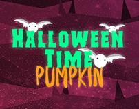 Halloween Time - Pumpkin Portrait