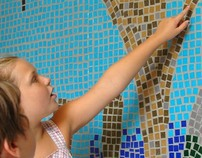 """""""Growing Through Learning"""" A Glass Tile Mosaic"""