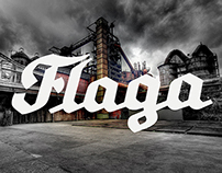 Flaga Typeface