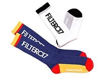 Filter017 Design Fonts Sport Socks