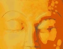 Digital Painting of Buddha