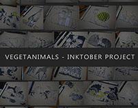 Vegetanimals - Inktober Project