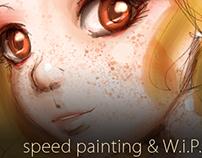 Speed Painting & W.i.P.