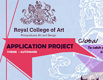 ROYAL COLLEGE OF ART - PROJECT