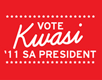 Kwasi For Student Association President