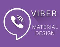 Viber Material Design Concept